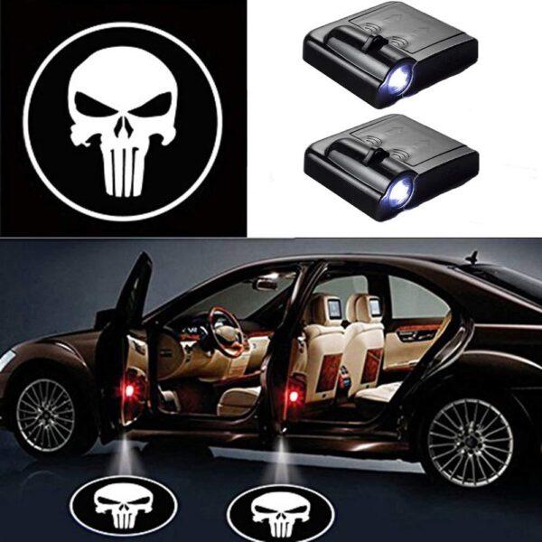 Skull Car Door Lights