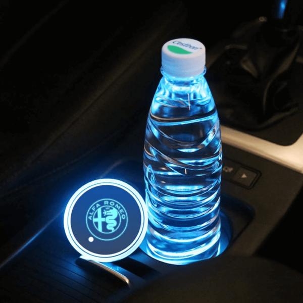 Alfa Romeo cup holder light