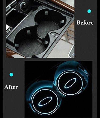 Car LED Cup Holder Light