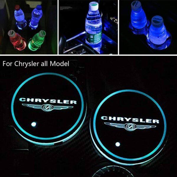 Chrysler LED Cup holder lights