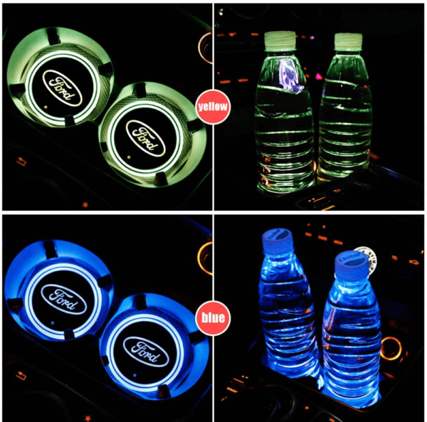 Ford LED Cup Holder Lights