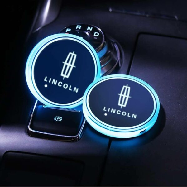 Lincoln cup holder lighting