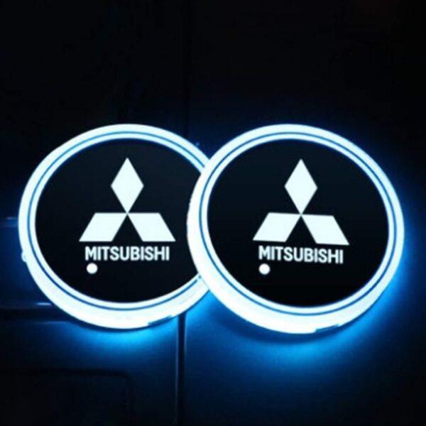 Mitsubishi LED Cup Holder