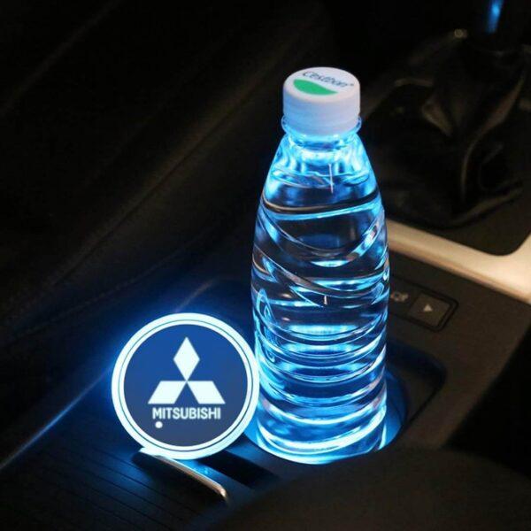 Mitsubishi LED Cup Holder Light