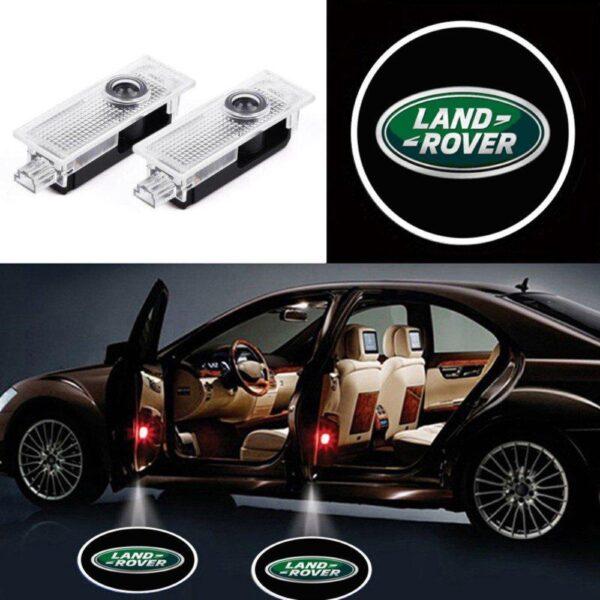 land rover door lights