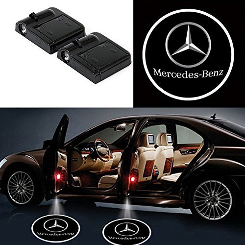 mercedes benz door lights