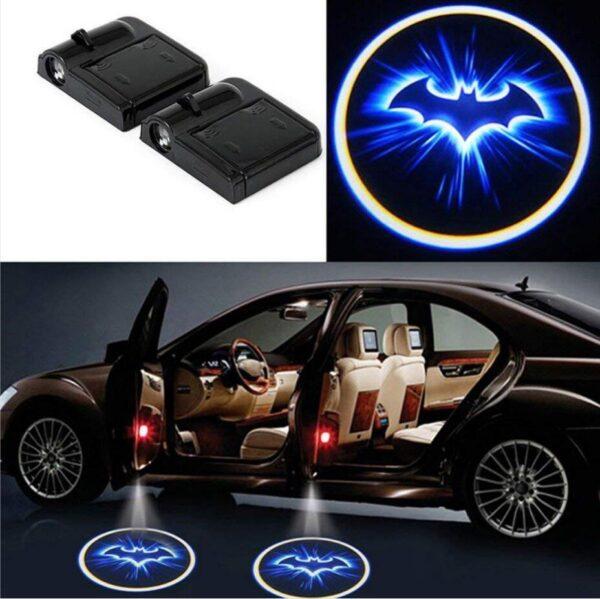 batman car lights
