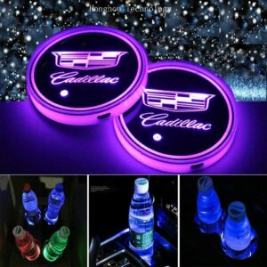 Cadillac LED cup holder