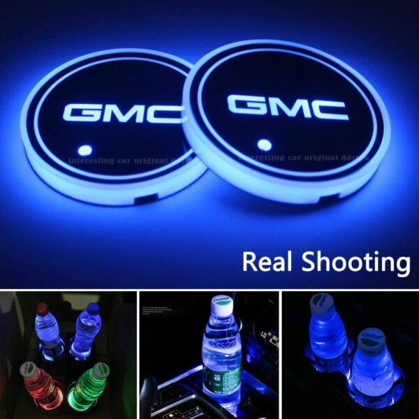 GMC Cup Holder Lights