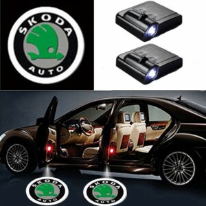 Skoda Car Door Lights