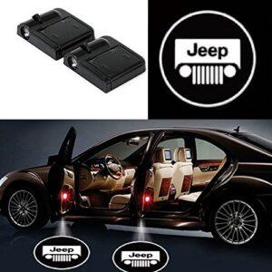 Jeep door lights