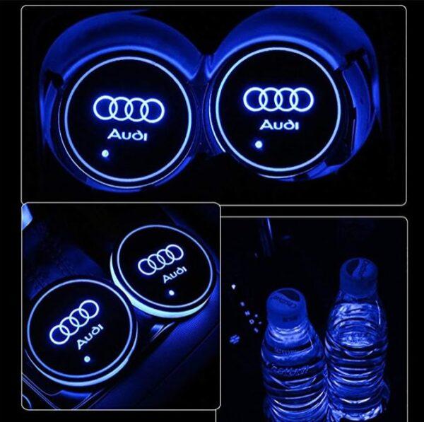 Audi Cup Holder Lights 1