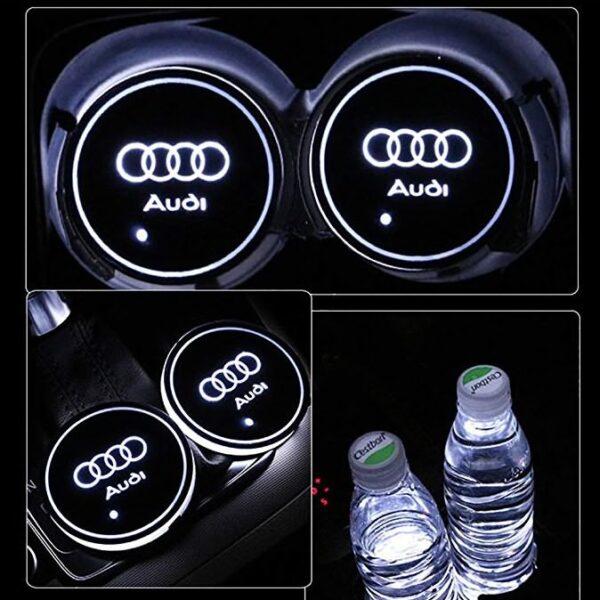 Audi Cup Holder Lights 2