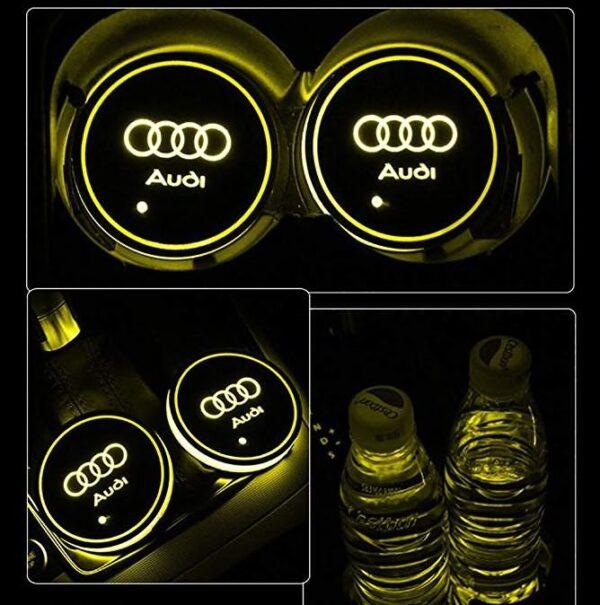 Audi Cup Holder Lights 3
