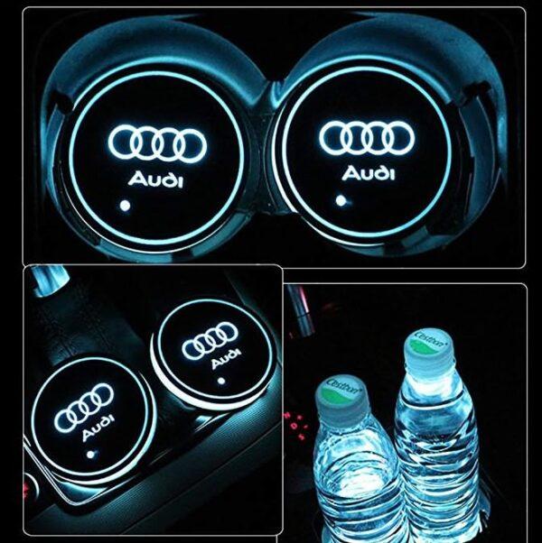 Audi Cup Holder Lights 4