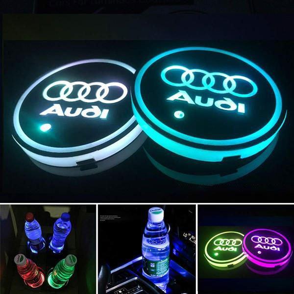 Audi LED Cup Holder Lights