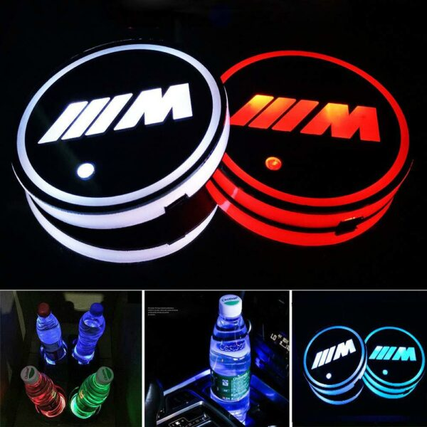 BMW LED CUP HOLDER
