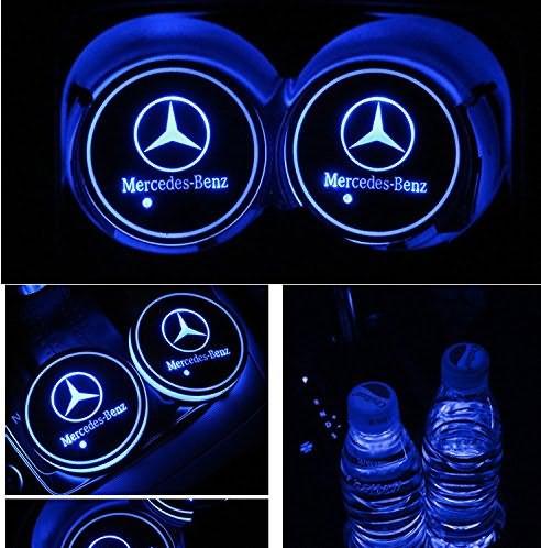 Benz LED Cup Holder