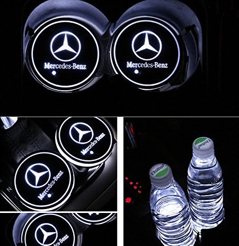 Benz LED Cup Holders