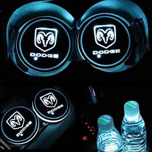 Dodge LED Cup Holder Lights 2