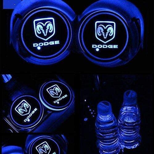 Dodge LED Cup Holder