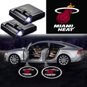 Miami Heat Logo Door Lights