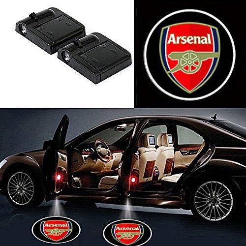 Arsenal door projector lights