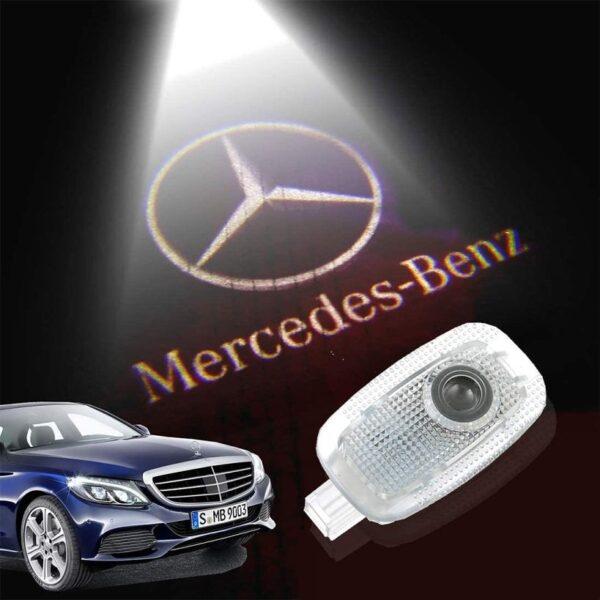 Benz car door projector