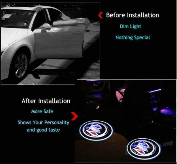 Buick Door Projector