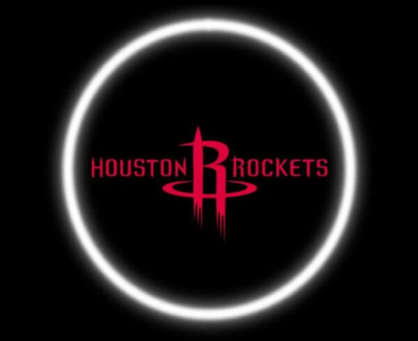 Houston Rockets Car Door Projector Light