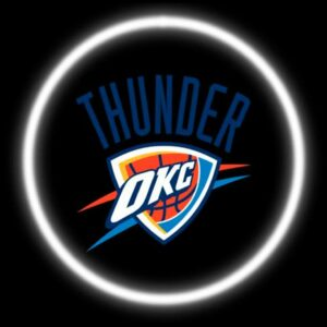 Thunder OKC Car Door Projector Light