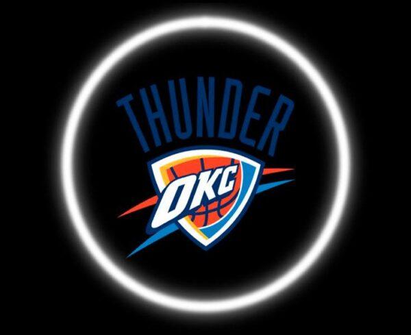 Thunder OKC Car Door Projector Light