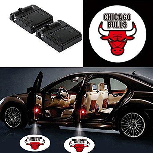 Chicago bulls door projector lights