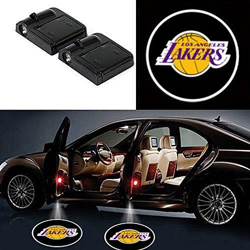 Lakers door projector lights