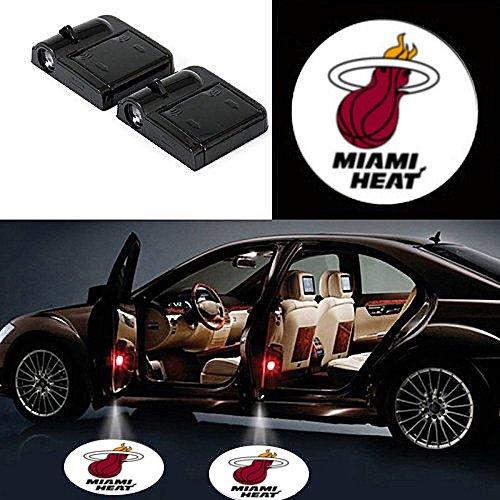 Miami heat door projector lights