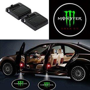 Monster door projector lights