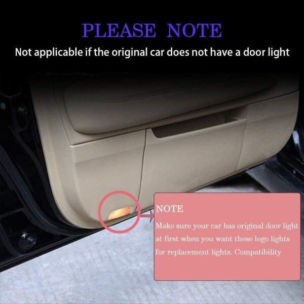 car door projector