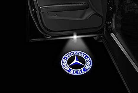 mercedes door lights
