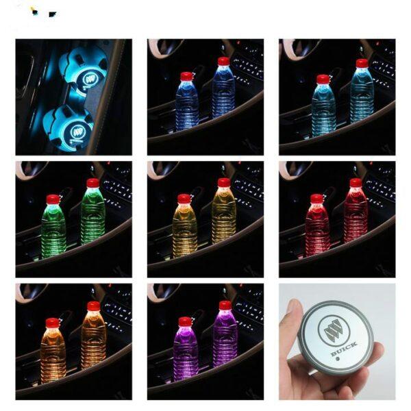 Custom Cup Holder Lights