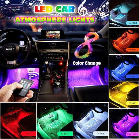 Multi-color Car Interior LED