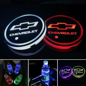 Chevy LED Cup Holder Lights