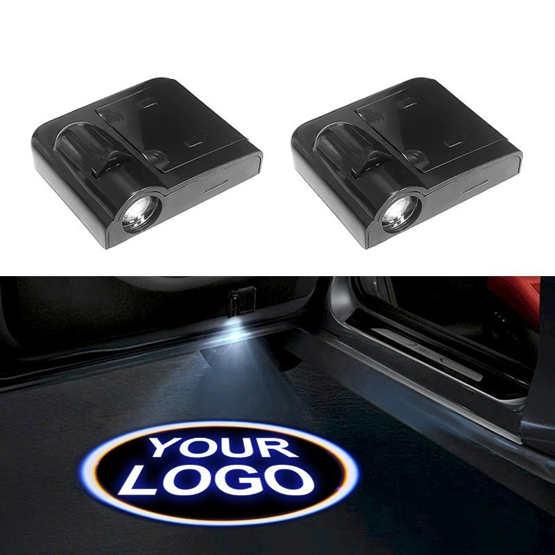 Cunymagos Custom made Wireless LED Car Door LOGO Projector Light Customized Car Laser Light Car Logo