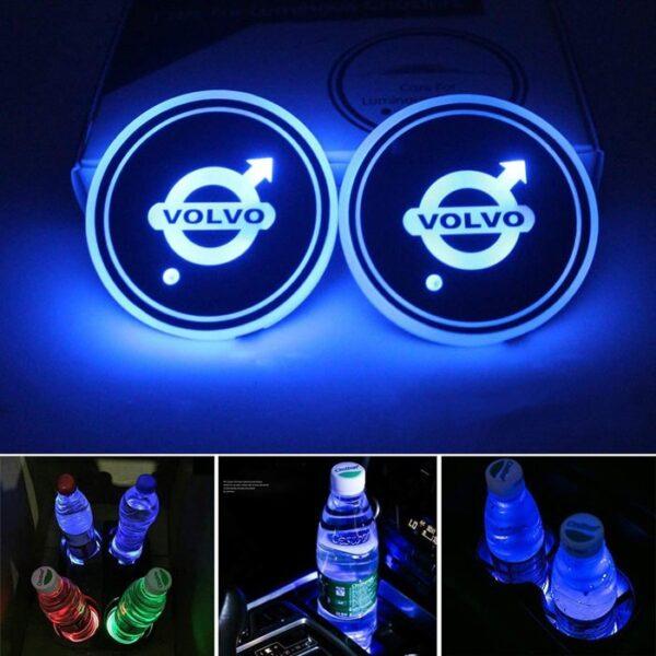 Volvo LED Cup Holder Lights