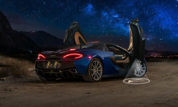 Custom Car Door Projector Lights