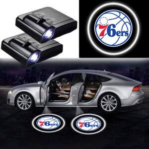 76ers Door Lights