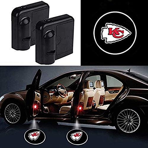 Kansas City Chiefs Door Lights