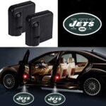 New York Jets Car Door Projector Logo Lights