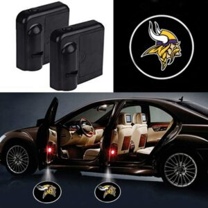 Minnesota Vikings Car Door Lights