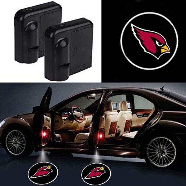 Arizona Cardinals Door Lights