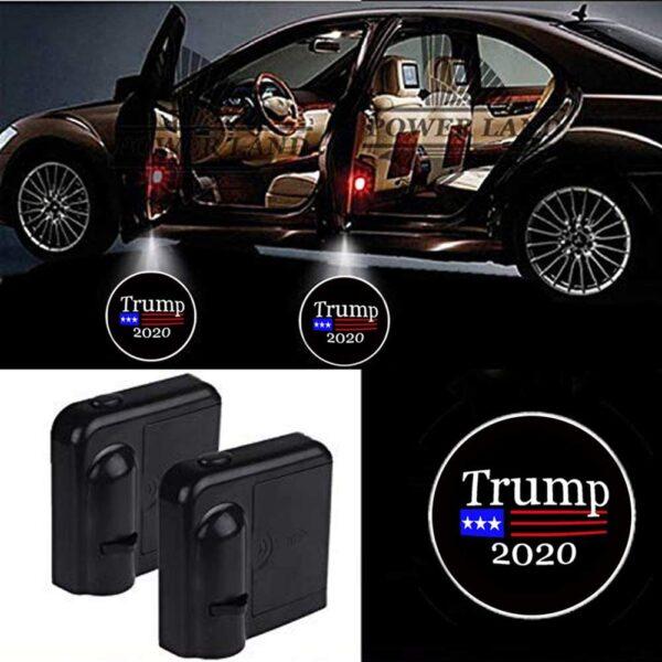 Donald Trump Car Door Projector